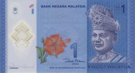 Maleisië P51 1 Ringgit ND (2012) B149a