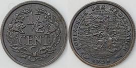 Nederland Sch.1015 1/2 Cent 1928