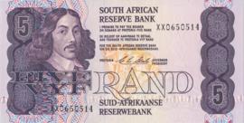 Zuid Afrika P119.d 5 Rand ND (1978-94)