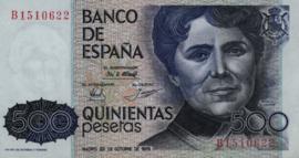 Spanje P157 500 Pesetas 1979