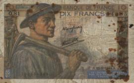 Frankrijk P99.a 10 Francs 1941-1949