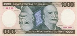 Brazilië P201.d 1.000 Cruzeiros No Date 1981-86 UNC