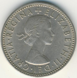 Engeland 1 Shilling 1963 Scottish Arms KM# 905