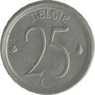 België KM154.1 25 Centimen 1964-1975