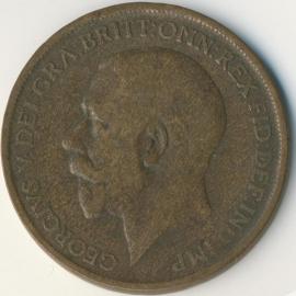 Engeland 1 PENNY 1911 KM# 810