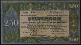 Nederland PL13.b: 2½ Gulden 1922
