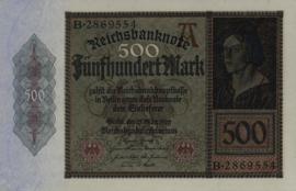 Duitsland P73 500 Mark 1922-03-27 Ros.070 DEU-80