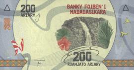 Madagascar P98 200 Ariary 2017