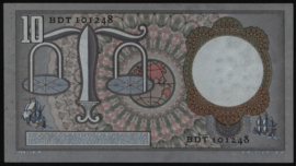 Nederland PL45c.R: 10 Gulden 1953 REPLACEMENT