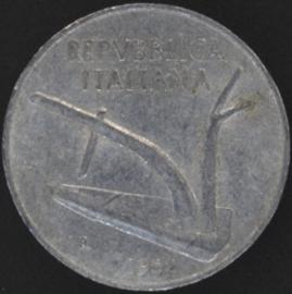 Italië KM#93 10 Lire 1952R