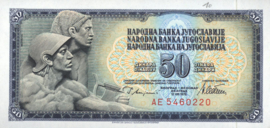 Joegoslavië P89.a 50 Dinara 1978