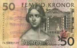 Zweden P62 50 Kronor (199)6-(200)3