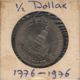 VS/USA ½ Dollar 1776-1976 KMA205