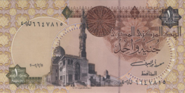 Egypte P50.j 1 Pound 1978-2008