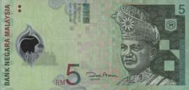 Maleisië P47 5 Ringgit 2004 (No date)