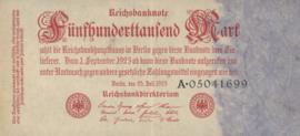Duitsland Ros.091.a 500.000 Mark 1923-07-25 DEU-103.a