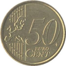 Belgium KM279 50 Euro Cent 2008-2013