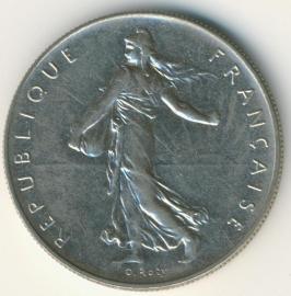 Frankrijk 1 Franc KM925.1 1960-2000