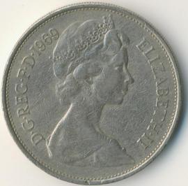 Engeland 10 New Pence 1969 KM#912
