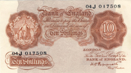 Engeland/VK P368.a 10 Shillings 1948-1960 (No date)