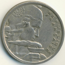 Frankrijk 100 Francs KM919.1 1954