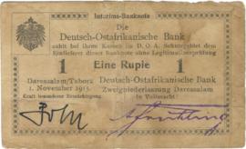 1 Rupee 1915.11.01. Ros 916.l)U5