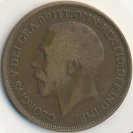Engeland 1 PENNY 1919 KM# 810