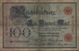 Duitsland P24 100 Mark 1905