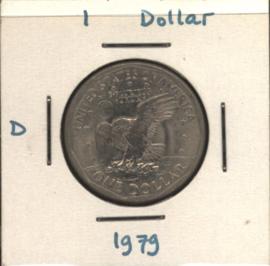 VS/USA 1 Dollar 1979 D KM207