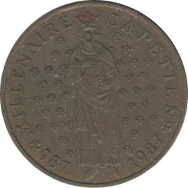 Frankrijk 10 Francs  KM961.d 1987