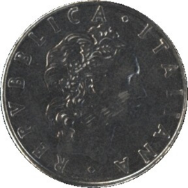 Italië KM95.1 50 Lire 1979R