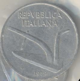 Italië KM#93 10 Lire 1979R