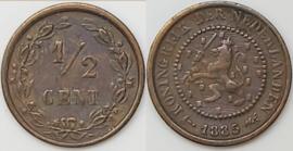 Nederland Sch.727 1/2 Cent 1885