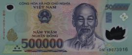 Viet Nam P124.n 500.000 Dong 2018