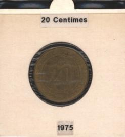 Algerije 20 Centimes 1975 FAO KM107.1