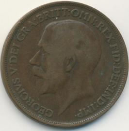 Engeland 1 PENNY 1914 KM# 810