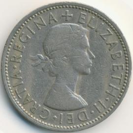 Engeland 2 Shillings (Florin) 1962 KM# 906