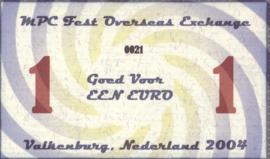 MPC Fest Overseas Exchange V/2004 1.- 1 Euro 2004