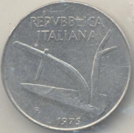Italië KM#93 10 Lire 1975R