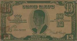 Imitatie- en reclamegeld  Goochelgeld 13 1955