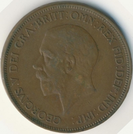 Engeland 1 PENNY 1935 KM# 838