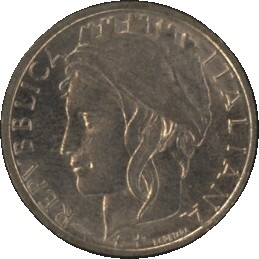 Italië KM159 100 LIRE 1996R