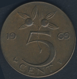 5 Cent 1969 Cock