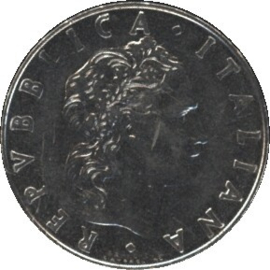 Italië KM95.1 50 Lire 1977R