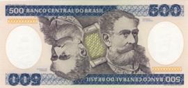 Brazilië P200.b 500 Cruzeiros 1981-85 (No date)