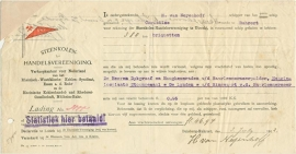 Nederland, Steenkolen-Handelsvereeniging, Nederland, Voorschot en scheepslading, 1912