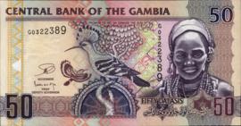 Gambia P28.c 50 Dalasis 2006 (No date)