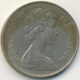 Engeland 10 New Pence 1971 KM#912
