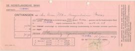 Nederland, Tilburg, Aflossing effecten, De Nederlandse Bank, 1929