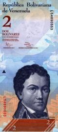 Venezuela P88.e 2 Bolivares 2007-2013